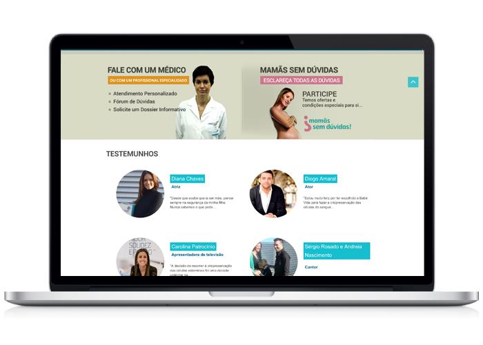 Webdesign / Bebévida