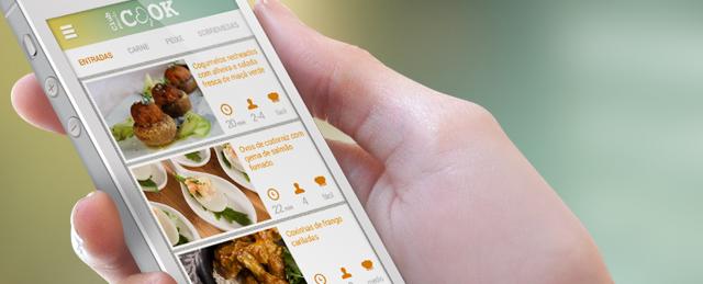 Primeira Chef Masterchef com aplicativo móvel Appylab