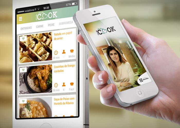Aplicativo móvel iOs e Android para primeira Masterchef Portuguesa