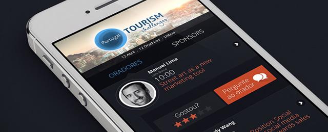 Aplicativo Móvel iOs e Android Tourism Challenges em fase de lançamento
