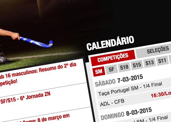 Webdesign / Federação Portuguesa de Hóquei