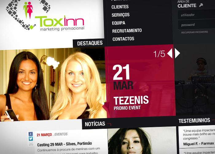 Webdesign / Toxinn