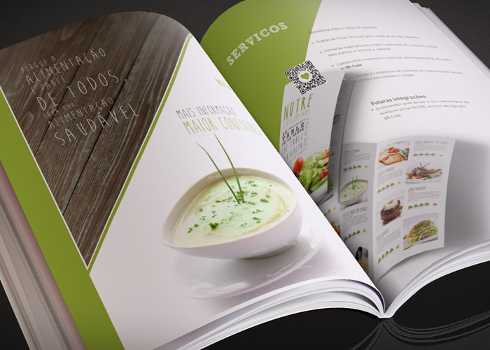 Design Gráfico / Brochura Nutre